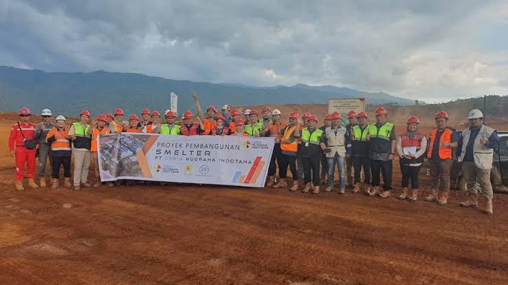 Pemerintah Tetapkan Pembangunan Smelter Nikel PT. CNI Sebagai Proyek Strategis Nasional