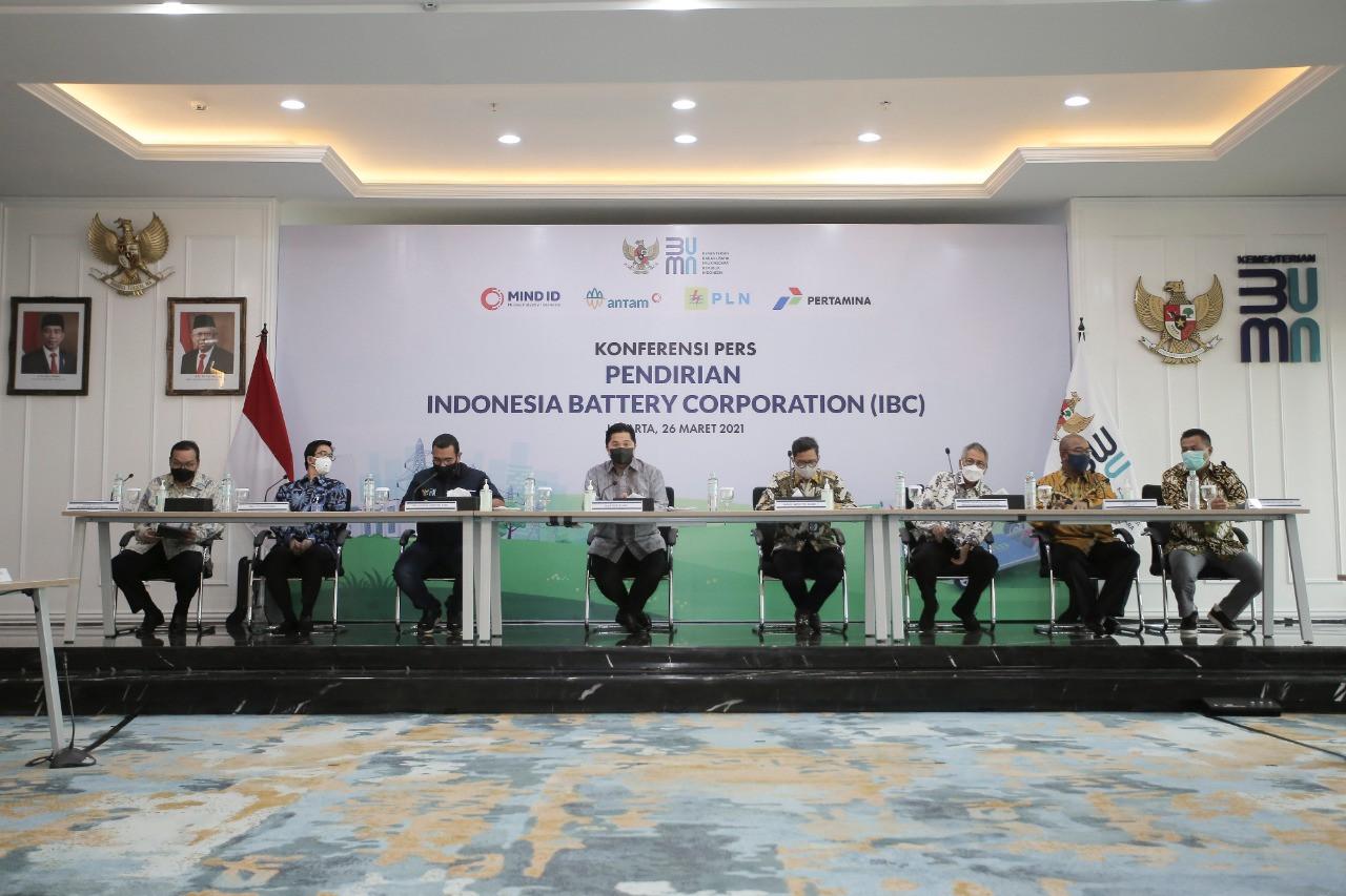 Holding BUMN Baterai Cari Mitra Strategis Kembangkan Ekosistem KBL