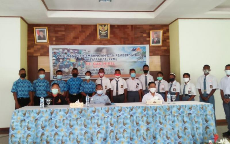 Realisasikan Program PPM 2021, PT GAG Nikel Gelar Penyuluhan Narkoba dan Etika Menggunakan Medsos Bagi Pelajar SMA Di Waisai