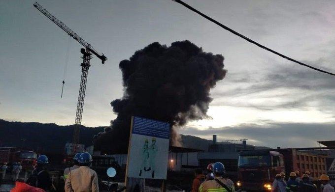Smelter Nikel PT IWIP di Maluku Utara Terbakar, 15 Orang Luka Berat