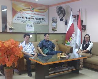 Perkenalkan Teknologi STAL, Komisaris Trinitan Kunjungi APNI